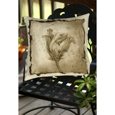 Floral Impression 8 Indoor/Outdoor Throw Pillow