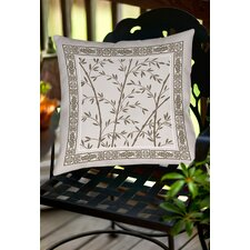 Oriental Treasure Indoor/Outdoor Throw Pillow