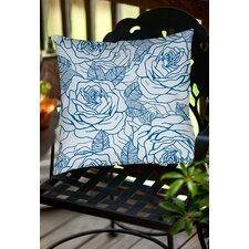 Rose Tonic Indoor/Outdoor Throw Pillow