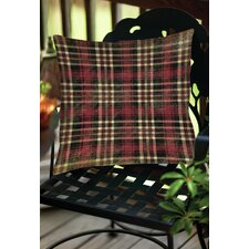 Plaid Indoor/Outdoor Throw Pillow
