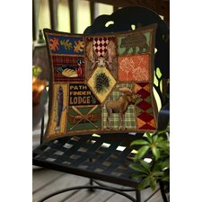 Pathfinder Indoor/Outdoor Throw Pillow