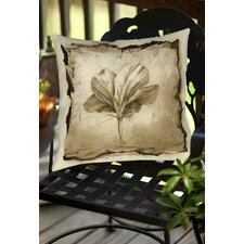 Floral Impression 9 Indoor/Outdoor Throw Pillow