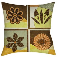 Graphic Garden Sydney Indoor/Outdoor Throw Pillow