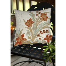 Garden Tile 3 Indoor/Outdoor Throw Pillow