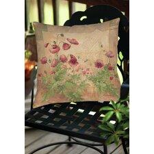 Floral 1 Indoor/Outdoor Throw Pillow