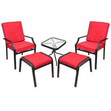 Sanoma 5 Piece Seating Group with Cushions