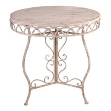 Aged Metal Bistro Table