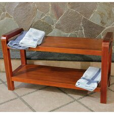 Amazing LiftAide Teak Garden Bench