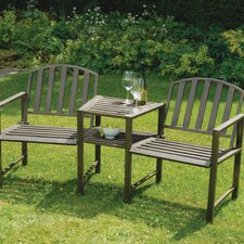 Doverdale 2 Seater Steel Love Seat