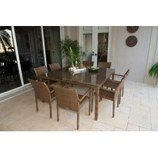 St Barths 9 Piece Dining Set