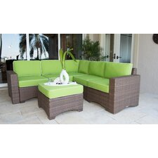 Reviews Key Biscayne 6 Piece Sectional Set with Cushions
