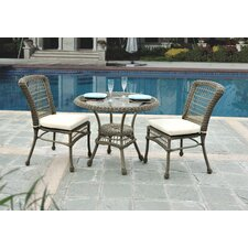 Carolina Beach 3 Piece Bistro Set