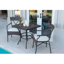 Rum Cay 3 Piece Bistro Set