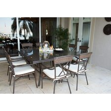 Comparison Rum Cay 9 Piece Dining Set