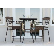 Rum Cay 3 Piece Dining Set