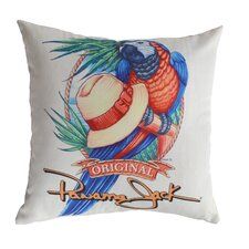 Parrot Indoor/Outdoor Throw Pillow (Set of 2)