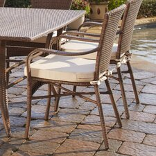 Key Biscayne Dining Arm Chair with cushion
