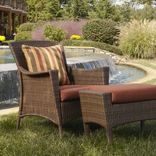 Key Biscayne 2 Piece Occasional Chair with Ottoman