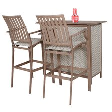 Island Breeze 3 Piece Bar Set