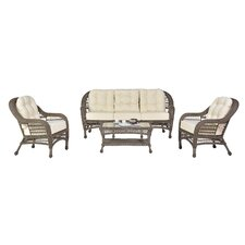 Carolina Beach 4 Piece Deep Seating Group