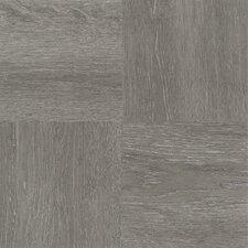 "Tivoli Wood 12"" x 12"" x 1.2mm Luxury Vinyl Tile in Charcoal Gray"