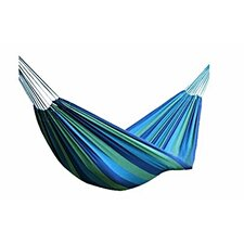 Striped Canvas Outdoor Tree Hammock
