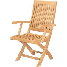 Folding Dining Arm Chair