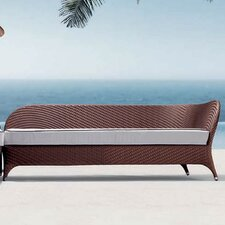 Flora Left Corner Daybed Sectional Piece with Cushion