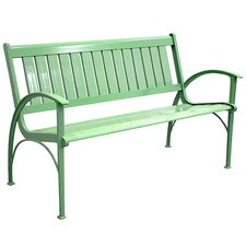Contemporary Aluminum Garden Bench