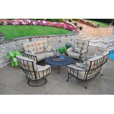 No Copoun Vinings 5 Piece Deep Seating Group with cushions