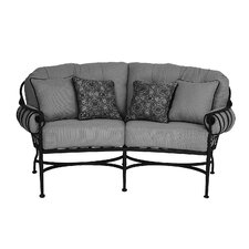 Best Choices Athens Deep Seating Loveseat with Cushion