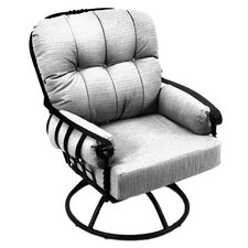 Athens Swivel Rocking Chair with Cushions
