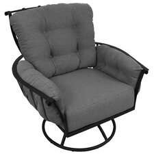 Swivel Rocking Chair with Cushions