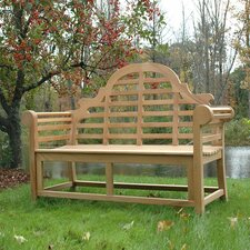Lutyens Indoor/Outdoor Teak Garden Bench