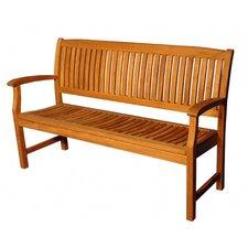 Modern Teak Tisbury Garden Bench