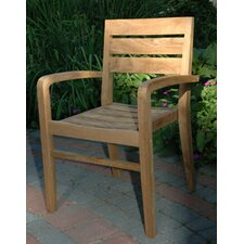 Lovely Ventura Stacking Arm Chair
