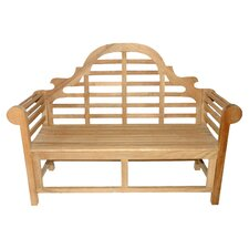 Purchase Teak Marlboro Lutyens Garden Bench