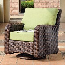 Saint Tropez Swivel Glider Chair with Cushions