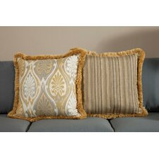 Aura Large Indoor/Outdoor Sunbrella Throw Pillow