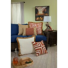 Mandarin Large Indoor/Outdoor Sunbrella Throw Pillow