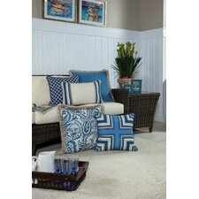 Neptune Medium Indoor/Outdoor Sunbrella Throw Pillow