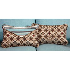 Tango Small Indoor/Outdoor Sunbrella Throw Pillow