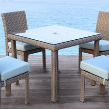 St Tropez 5 Piece Dining Set with Cushion