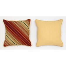 Cabana Life Cinnabar Throw Pillow