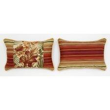 Cabana Life Cinnabar Lumbar Pillow