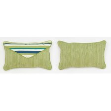 Comparison Cabana Life Luxe Aloha Lumbar Pillow
