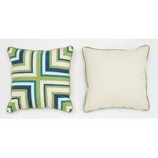 Cabana Life Luxe Pesto Throw Pillow