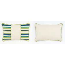 Cabana Life Luxe Pesto Lumbar Pillow
