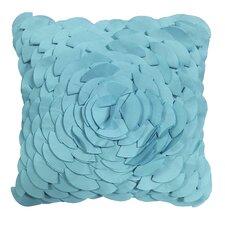 Dimensional Peony Indoor/Outdoor Throw Pillow