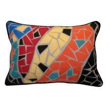 Guell Mosaic Indoor/Outdoor Lumbar Pillow